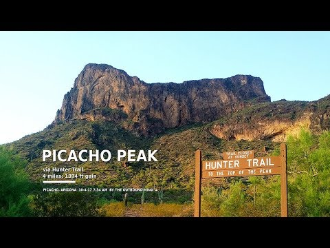 Full-Length Hike: Picacho Peak (Picacho), by The Outbound Mind