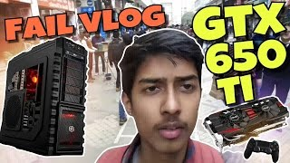 Gaming pc build in India fail | Nehru place | Motovlog