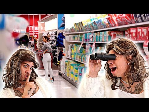 SPYING ON MY WIFE IN PUBLIC!!! **EXPOSED**