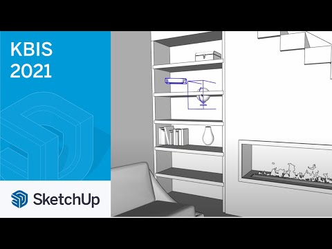 Designing the Treeline House in SketchUp