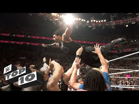 High-flying big men: WWE Top 10