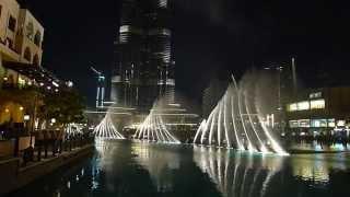 Burj Khalifa Fountain Show, Dubai