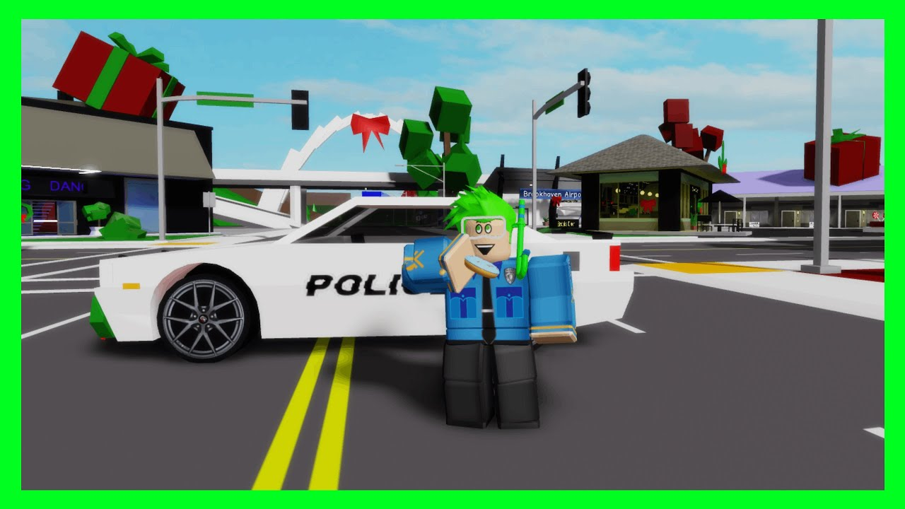 I BECAME A POLICE OFFICER IN BROOKHAVEN RP (Roblox) YouTube