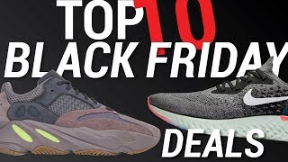 TOP 10 Best Black Friday Sneaker Deals 2018