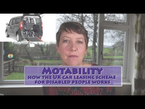 Motability - a guide to the car leasing scheme for disabled people