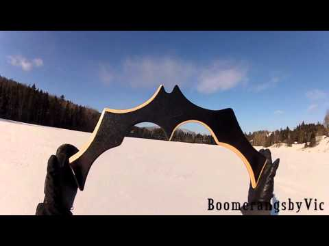 6 Extreme video game props made into Real boomerangs