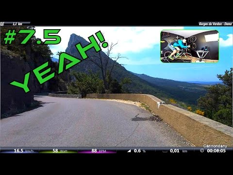 Tacx Training Software Upgrade IN DEPTH TEST & review. Indoor Cycling Sessions
