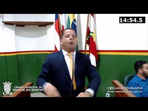 VEJA O RESUMO DA SESSÃO ORDINÁRIA DA CÂMARA MUNICIPAL DE SENHOR DO BONFIM DESTA TERÇA-FEIRA (26)