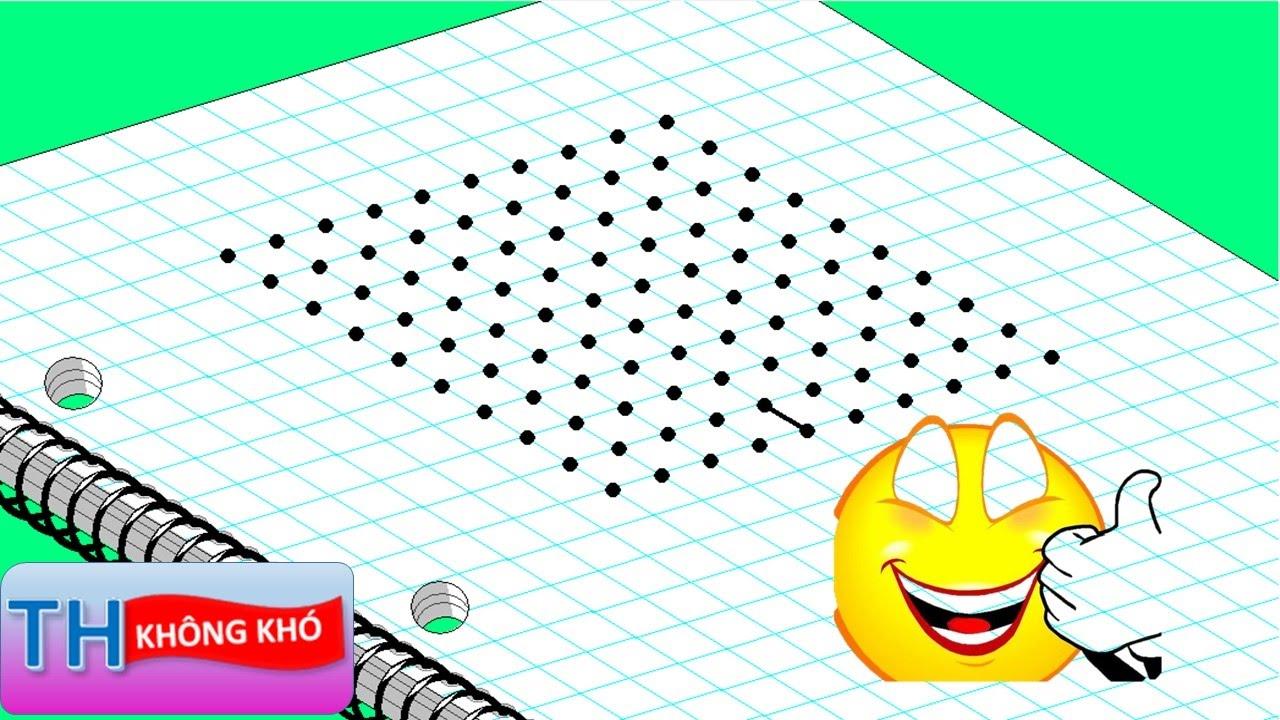 Tro Chơi Dots Lớp 3 Man Tuyệt đỉnh Dots Cung Học Tin Học Quyển 1