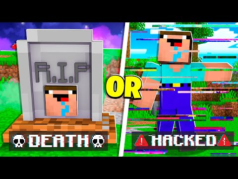 Noob1234 vs EXTREME Would You Rather! - Minecraft Challenge