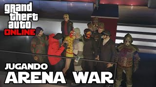 GTA V online - Arena War con seguidores - Jeshua Games