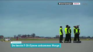 First three F 35 in Norway 3th november 2017 thumbnail