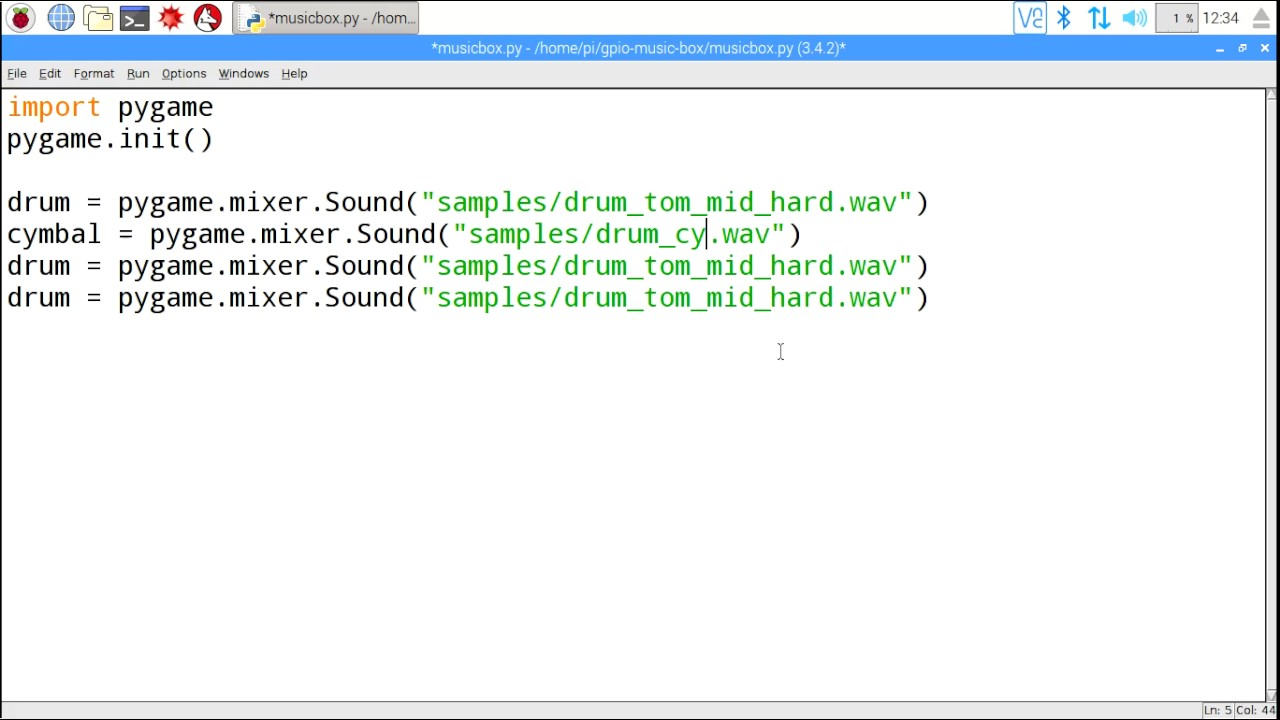 Playing sound with Python - YouTube