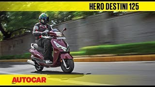 Hero Destini 125 | First Ride Review | Autocar India