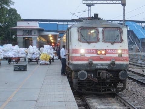 Bhopal Shatabdi Express Full Journey Compilation: Delhi Mathura Part I