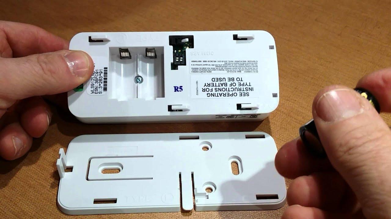Dsc Wireless Glassbreak Battery Replacement Youtube