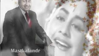 ankhiyan sang akhiyaan laagi aaj..Rafi_Prem Dhawan_Chitragupt..a tribute