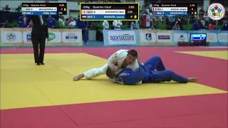 Georgia vs Austria - Quarter-Finals - Judo World Junior Championship Teams 2014