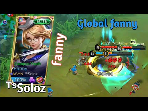 ᵀˢSoloz fanny(Global fanny) with his squad member(Airasia Saiyan) | ᵀˢSoloz fanny Gameplay