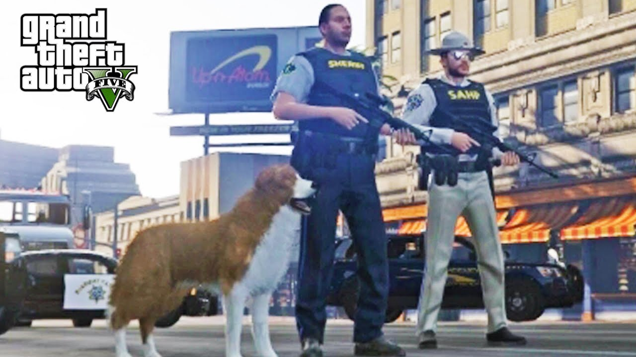 GTA 5 Roleplay   DOJ Live! - (LEO) K9 Patrol by Favignano Live