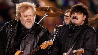 Guess Who's back: Burton Cummings and Randy Bachman share the stage