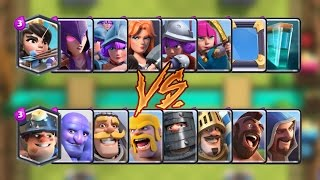 Girls vs Boys Clash Royale Challenge | Epic Battle