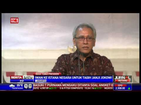 Iwan Fals ke Istana Negara Tagih Janji Jokowi