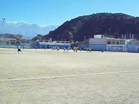 gol de tiro libre- lucas olivera- club atletico chilecito 6ta divicion