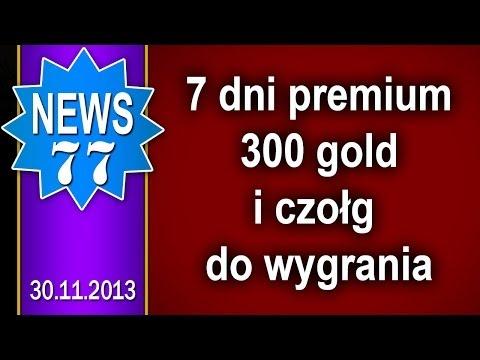 7 dni premium do zdobycia i inne - NEWS - World of tanks