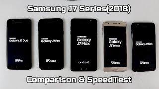Samsung Galaxy J7 Duo Vs J7 Pro Vs J7 Max Vs J7 Prime 2 Vs J7 Nxt Comparison And SpeedTest I Hindi
