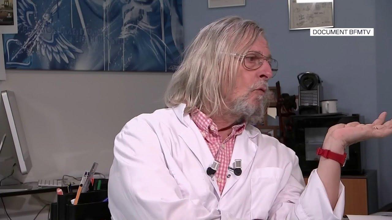 """Didier Raoult: """"C'est une maladie dont la contagiosité n'est pas extrême"""""""