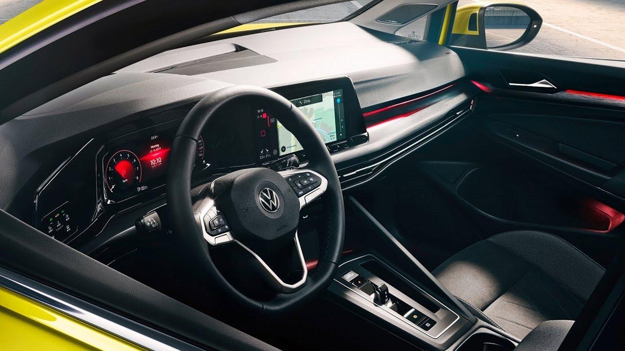 2020 Volkswagen Golf Interior Youtube