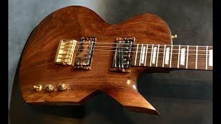 The Flamelurker - Custom One Piece Walnut Guitar Body Build