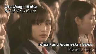 "Gambar cover 歌ウサギ ( Uta Usagi ) by Spitz ""OST SENSEI"" ( Romaji and indonesian Lyrics )"