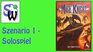 Mage Knight - Einstiegsszenario - 1 Charakter (let