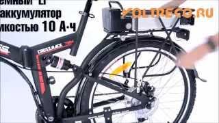 Электровелосипед Cross Rack 2015 Хит для дачи!