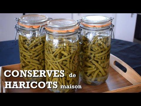 Haricots verts | Faire ses conserves maison