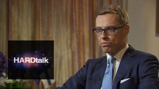 Alexander Stubb - Prime Minister of Finland - BBC HARDtalk