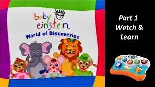 Baby Einstein (V.Smile Baby) (Playthrough) Part 1 - Watch & Learn