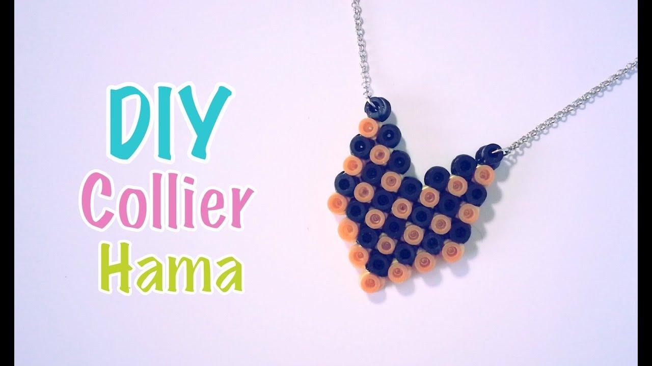 collier perle hama