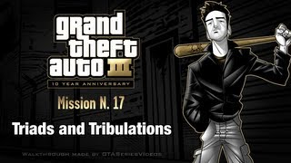 GTA 3 - iPad Walkthrough - Mission #17 - Triads and Tribulations thumbnail