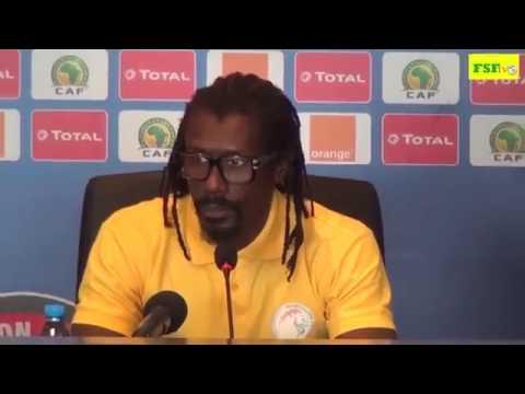 Aliou cisse conférence de presse d'avant matchi Sénégal vs Cameron