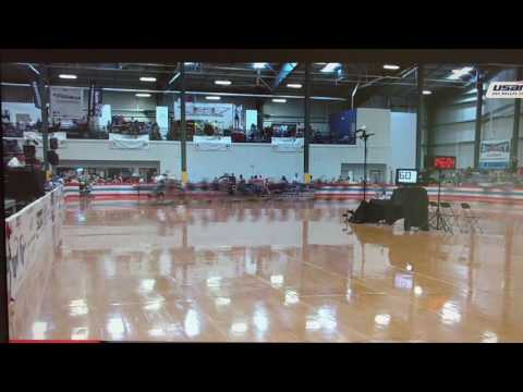 Giant Paceline - USARS 2017 speed skating nationals