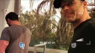 Ricky Martin con su prometido en Los Angeles - El Gordo y La Flaca