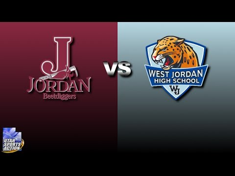 Utah High School Football: Jordan Beetdiggers vs West Jordan Jaguars  highlights (2016).