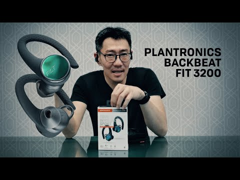 Plantronics BackBeat FIT 3200/6100 Wireless Sports Headphones Review - Part 1