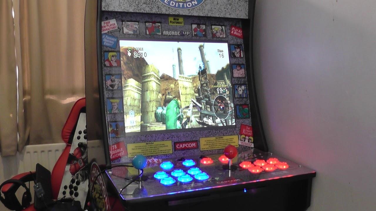 Arcade 1up CoinOPS Forgotten Worlds 3 Wii test