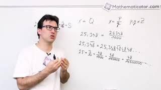 Jak napsat periodické desetinné číslo jako zlomek?