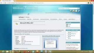 how to download microsoft word 2007 for free