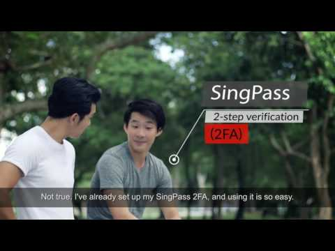 Convenient Access to NS portal, with SingPass SMS 2FA